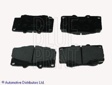 Kit de plaquettes de frein, frein à disque - BLUE PRINT - ADT342160