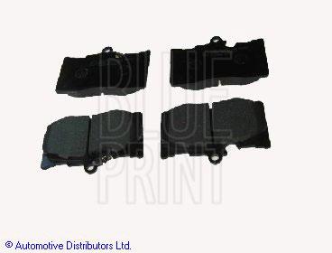 Kit de plaquettes de frein, frein à disque - BLUE PRINT - ADT342161