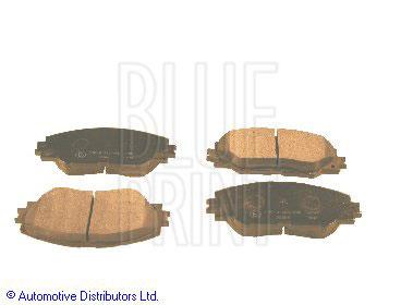 Kit de plaquettes de frein, frein à disque - BLUE PRINT - ADT342162