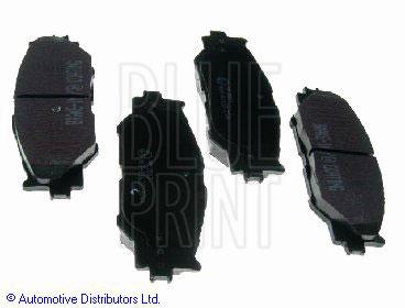 Kit de plaquettes de frein, frein à disque - BLUE PRINT - ADT342163