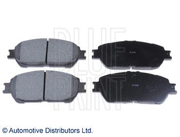 Kit de plaquettes de frein, frein à disque - BLUE PRINT - ADT342164