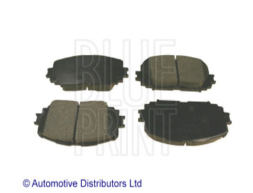 Kit de plaquettes de frein, frein à disque - BLUE PRINT - ADT342166