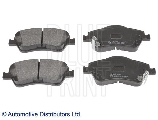 Kit de plaquettes de frein, frein à disque - BLUE PRINT - ADT342169