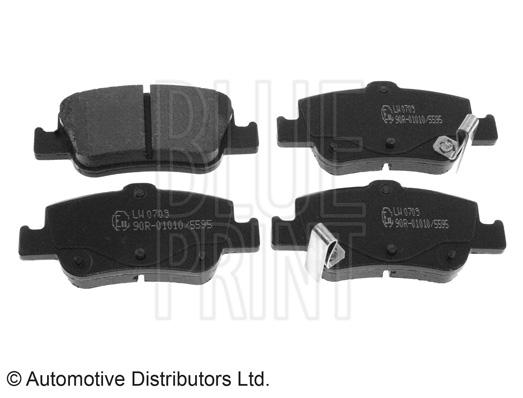 Kit de plaquettes de frein, frein à disque - BLUE PRINT - ADT342173