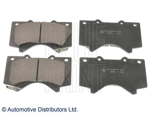 Kit de plaquettes de frein, frein à disque - BLUE PRINT - ADT342175