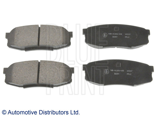 Kit de plaquettes de frein, frein à disque - BLUE PRINT - ADT342176