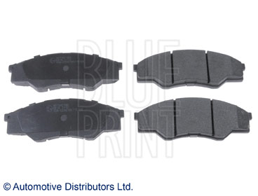 Kit de plaquettes de frein, frein à disque - BLUE PRINT - ADT342180