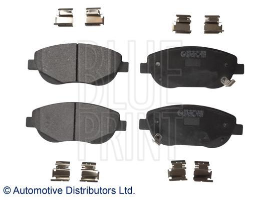 Kit de plaquettes de frein, frein à disque - BLUE PRINT - ADT342182