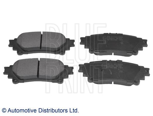 Kit de plaquettes de frein, frein à disque - BLUE PRINT - ADT342186