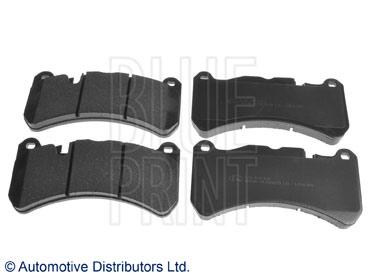 Kit de plaquettes de frein, frein à disque - BLUE PRINT - ADT342187