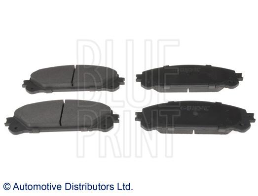 Kit de plaquettes de frein, frein à disque - BLUE PRINT - ADT342190
