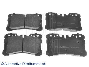 Kit de plaquettes de frein, frein à disque - BLUE PRINT - ADT342192