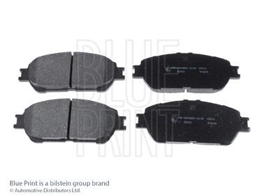 Kit de plaquettes de frein, frein à disque - BLUE PRINT - ADT342193
