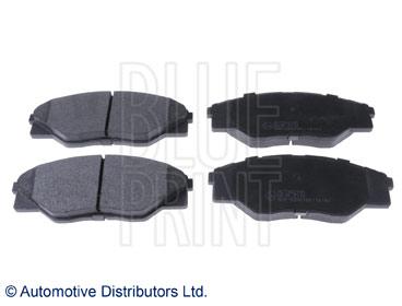 Kit de plaquettes de frein, frein à disque - BLUE PRINT - ADT342195
