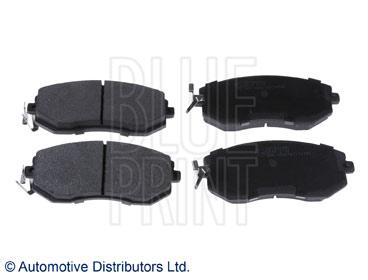 Kit de plaquettes de frein, frein à disque - BLUE PRINT - ADT342196