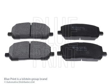 Kit de plaquettes de frein, frein à disque - BLUE PRINT - ADT342201