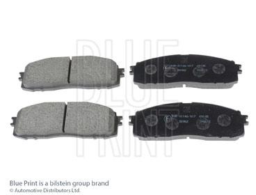Kit de plaquettes de frein, frein à disque - BLUE PRINT - ADT34221