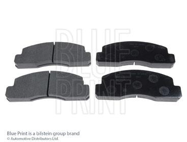 Kit de plaquettes de frein, frein à disque - BLUE PRINT - ADT34226