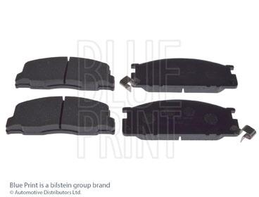 Kit de plaquettes de frein, frein à disque - BLUE PRINT - ADT34234