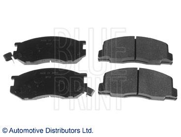 Kit de plaquettes de frein, frein à disque - BLUE PRINT - ADT34246