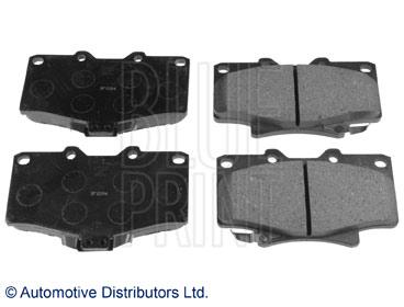 Kit de plaquettes de frein, frein à disque - BLUE PRINT - ADT34248