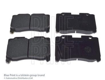 Kit de plaquettes de frein, frein à disque - BLUE PRINT - ADT34251
