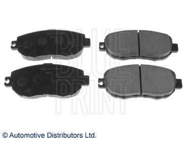 Kit de plaquettes de frein, frein à disque - BLUE PRINT - ADT34255