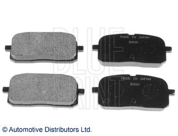 Kit de plaquettes de frein, frein à disque - BLUE PRINT - ADT34267