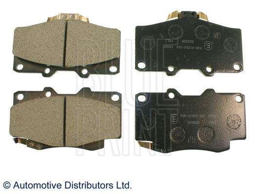 Kit de plaquettes de frein, frein à disque - BLUE PRINT - ADT34281