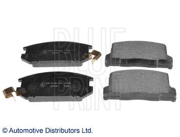 Kit de plaquettes de frein, frein à disque - BLUE PRINT - ADT34282