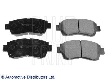 Kit de plaquettes de frein, frein à disque - BLUE PRINT - ADT34283