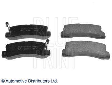 Kit de plaquettes de frein, frein à disque - BLUE PRINT - ADT34284