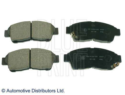 Kit de plaquettes de frein, frein à disque - BLUE PRINT - ADT34285