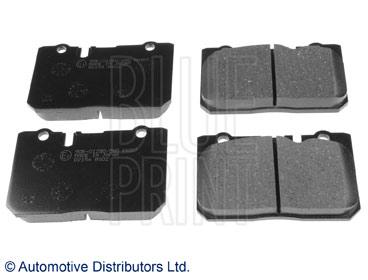 Kit de plaquettes de frein, frein à disque - BLUE PRINT - ADT34287