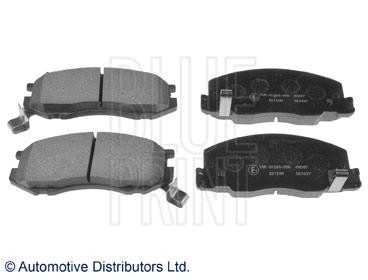 Kit de plaquettes de frein, frein à disque - BLUE PRINT - ADT34288