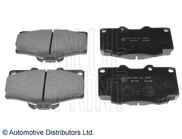 Kit de plaquettes de frein, frein à disque - BLUE PRINT - ADT34289