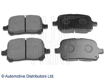 Kit de plaquettes de frein, frein à disque - BLUE PRINT - ADT34290