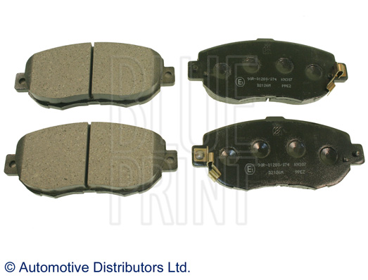 Kit de plaquettes de frein, frein à disque - BLUE PRINT - ADT34291
