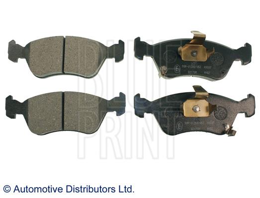 Kit de plaquettes de frein, frein à disque - BLUE PRINT - ADT34292
