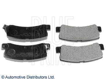 Kit de plaquettes de frein, frein à disque - BLUE PRINT - ADT34293