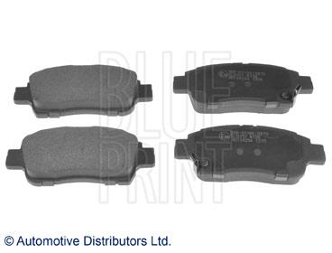 Kit de plaquettes de frein, frein à disque - BLUE PRINT - ADT34294