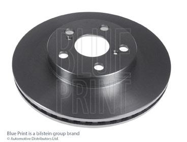 Kit de plaquettes de frein, frein à disque - BLUE PRINT - ADT343293