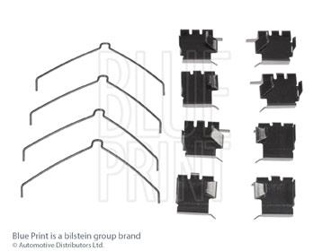 Kit d'accessoires, plaquette de frein à disque - BLUE PRINT - ADT348607