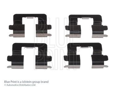 Kit d'accessoires, plaquette de frein à disque - BLUE PRINT - ADT348608