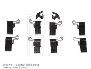 Kit d'accessoires, plaquette de frein à disque - BLUE PRINT - ADT348609