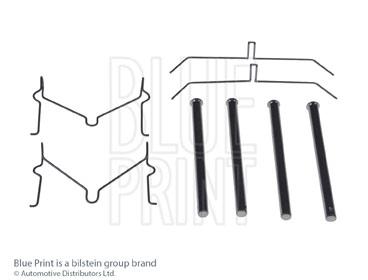 Kit d'accessoires, plaquette de frein à disque - BLUE PRINT - ADT348611