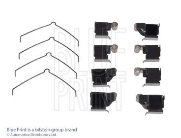 Kit d'accessoires, plaquette de frein à disque - BLUE PRINT - ADT348612