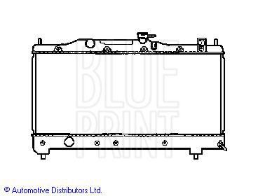 Radiateur, refroidissement du moteur - BLUE PRINT - ADT39851