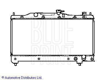 Radiateur, refroidissement du moteur - BLUE PRINT - ADT39853