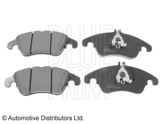Kit de plaquettes de frein, frein à disque - BLUE PRINT - ADU174201